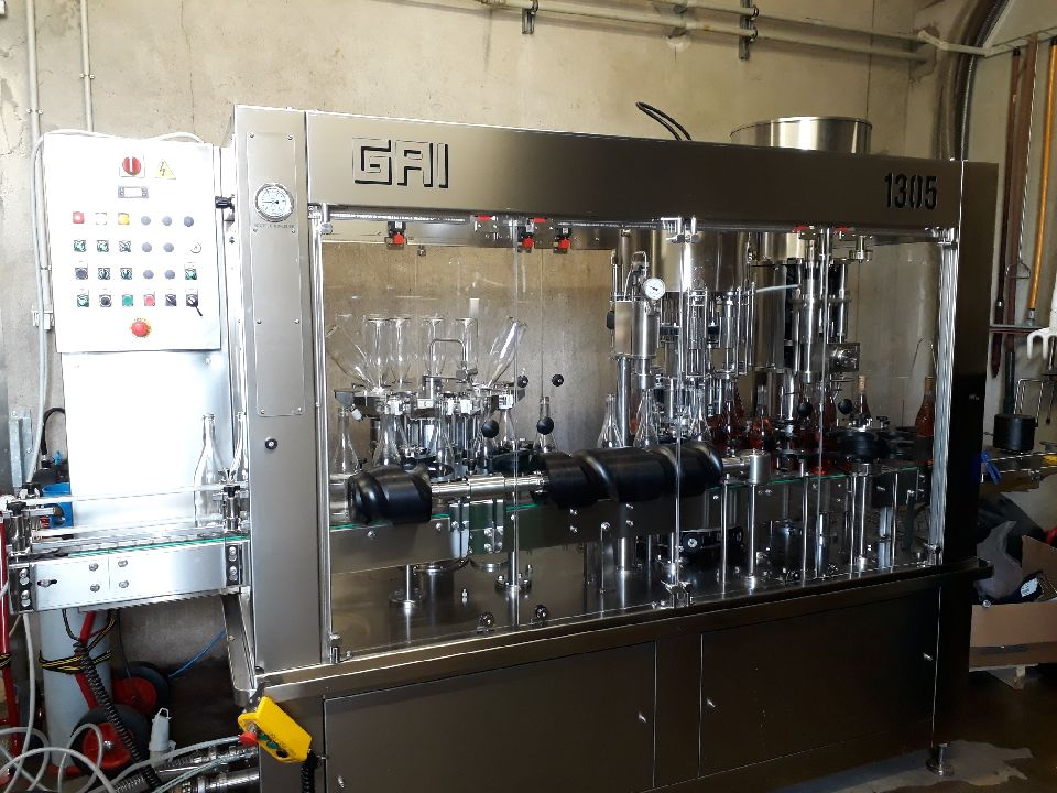 machine gai embouteillage etiquetage bouteille universite bourgogne